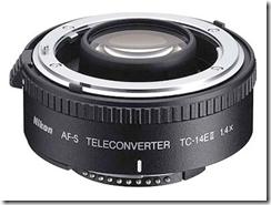 Multiplicateur de focale Nikon 1,4x