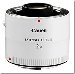 Multiplicateur de focale Canon 2x / doubleur