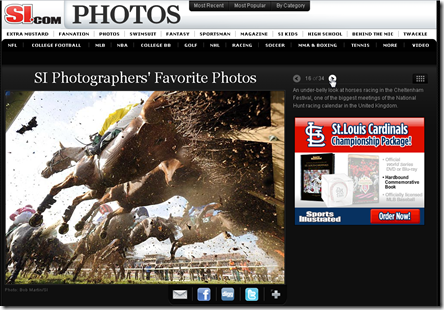 Photos de l'année par Sports illustrated