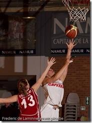 Basket Dames : Championnat de belgique : Dexia Namur - Willebroek