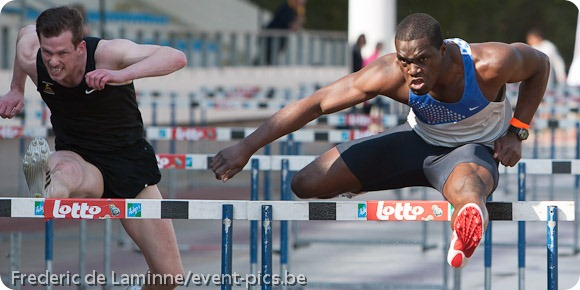 photo sport : athlétisme 110m haies