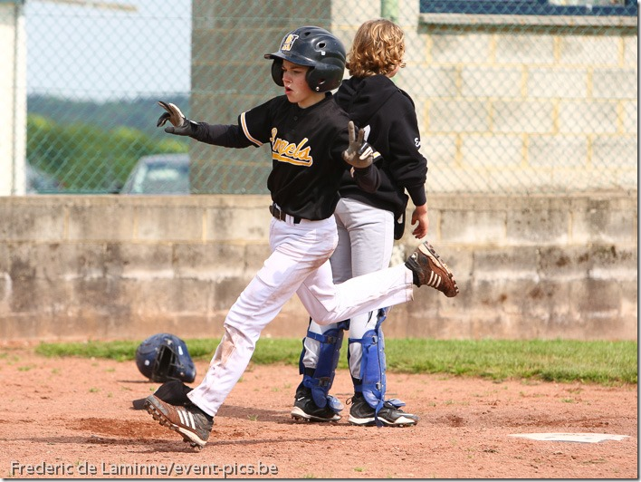 Baseball : Namur Angels Cadets