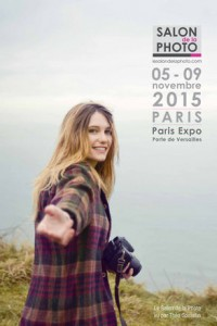 Affiche du Salon de la Photo 2015 signée Théo Gosselin